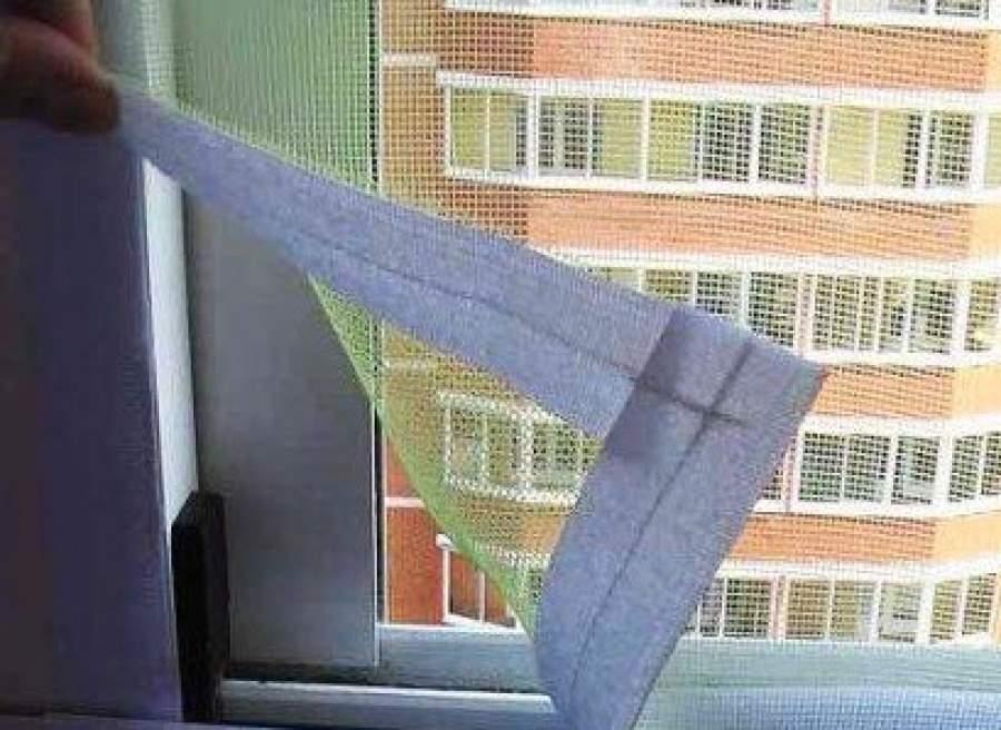 Как сделать москитная сетка на окно