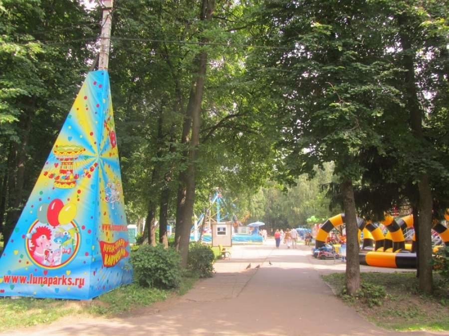 Посетители посчитали Воскресенский парк неухоженным
