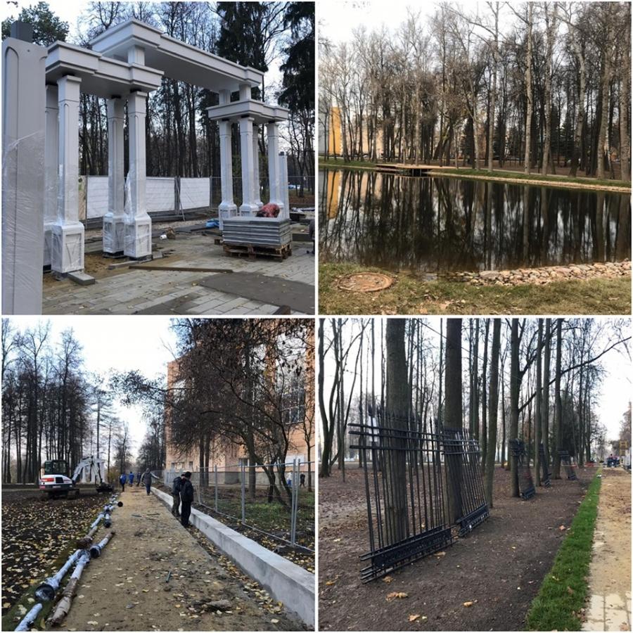 Проект реставрации Воскресенского городского парка – дипломант международного фестиваля