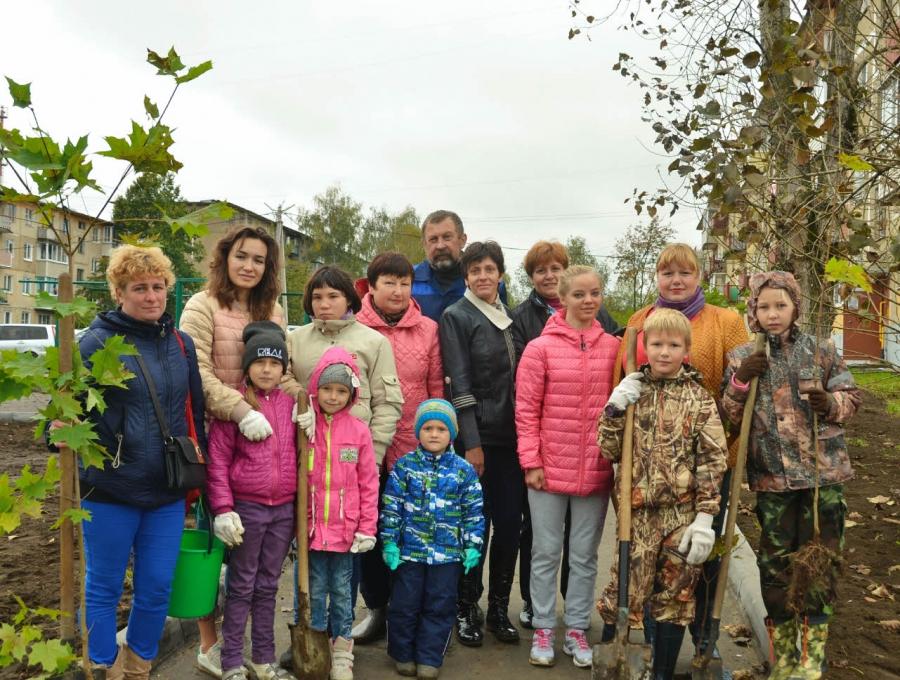Экологическая акция «Лес Победы» в Хорлово
