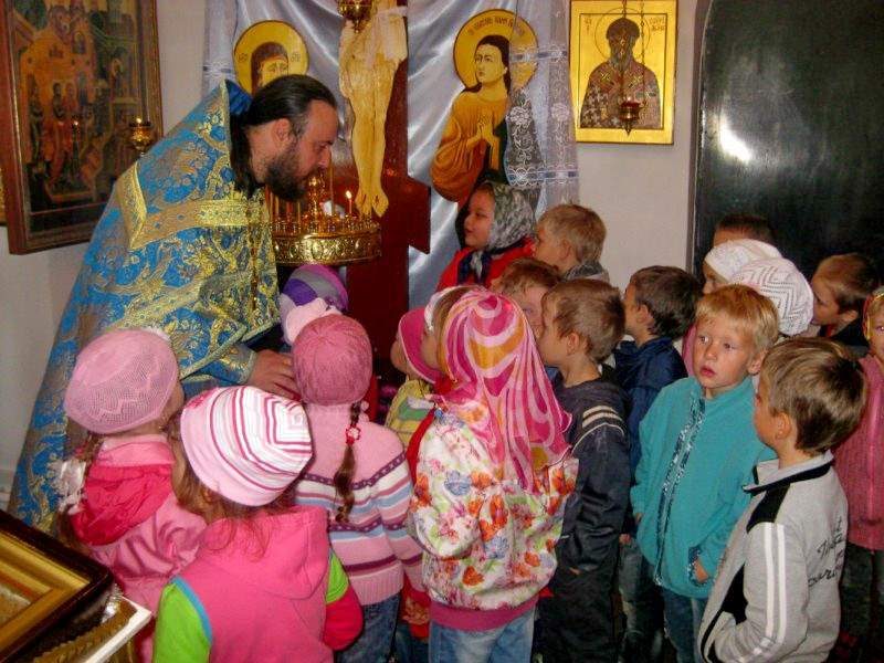 Радость Рождества Богородицы в детских сердцах