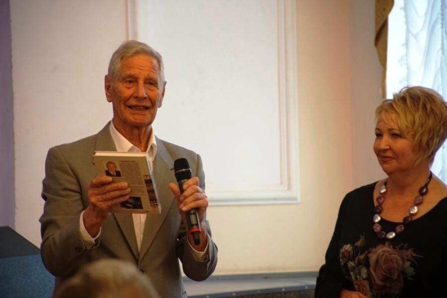 Презентация книги народного артиста России, награждение лауреатов литературного конкурса