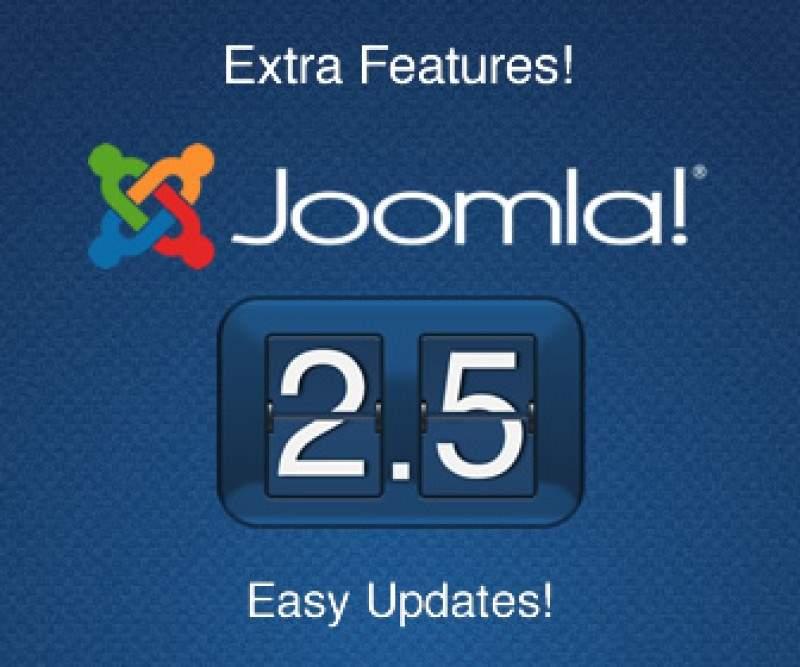 Обновление сайта до Joomla 2.5 завершено