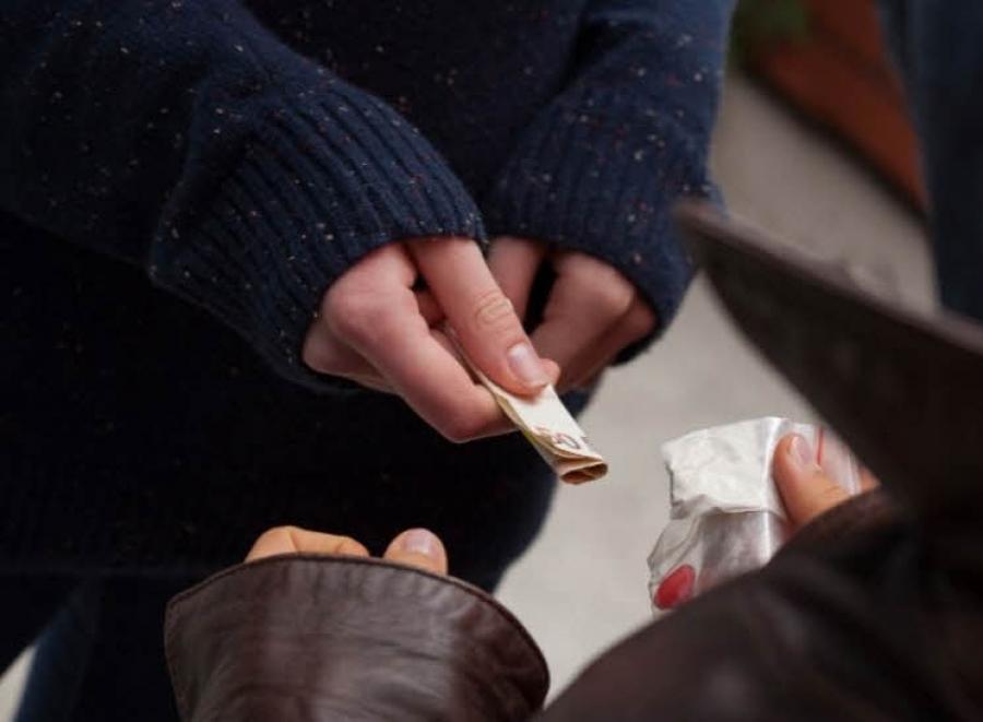 Пресечён незаконный сбыт наркотиков