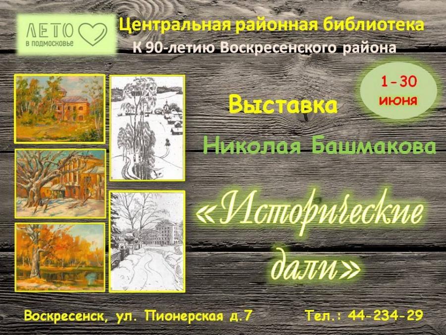 «Исторические дали» художника Николая Башмакова