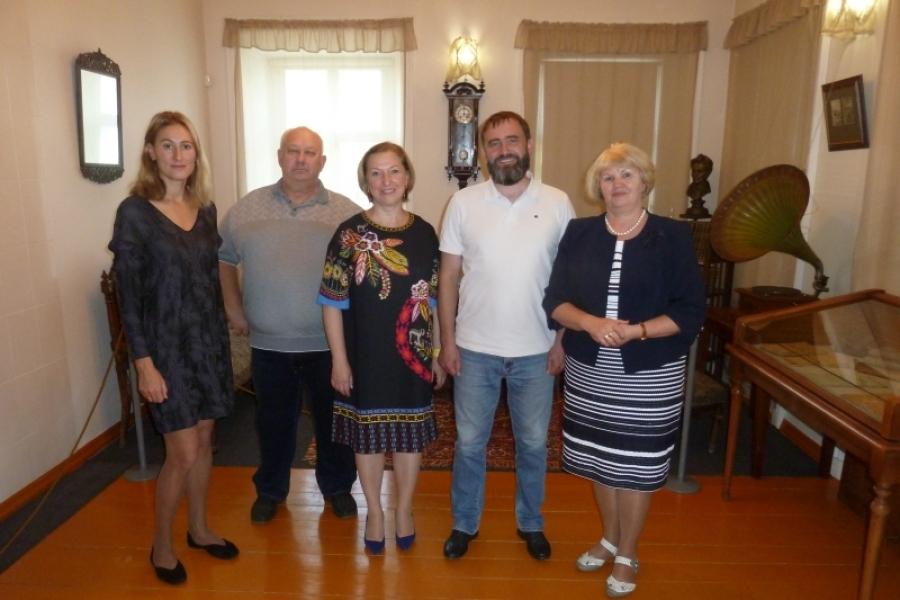 На дне рождения И.И. Лажечникова в Коломне