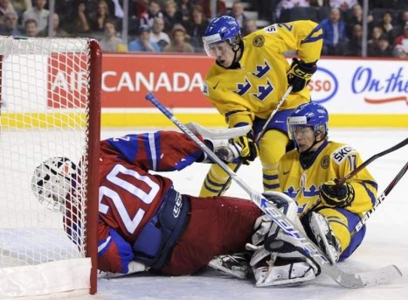 Сборная России победила сборную Швеции
