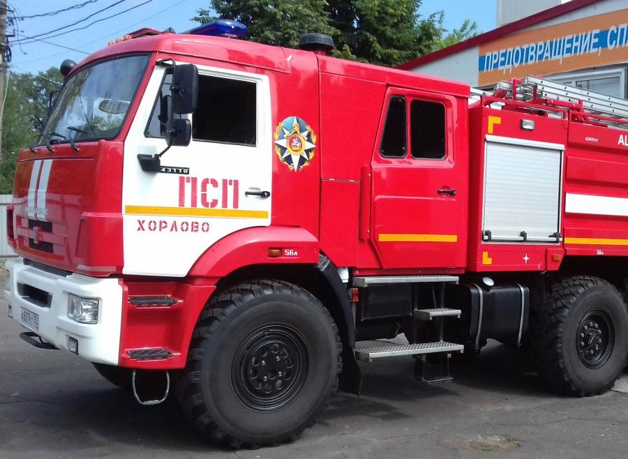 Информация по выездам хорловских пожарных