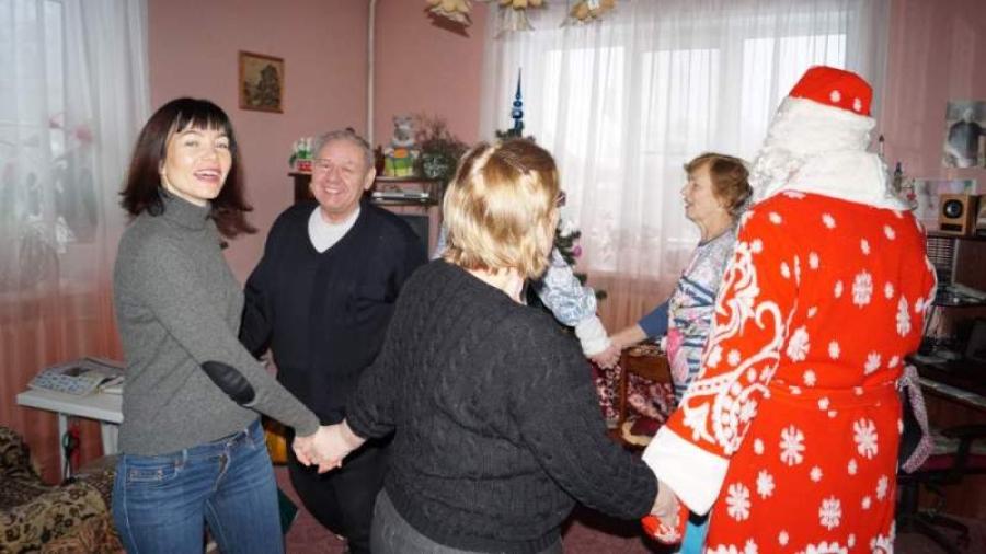 В Хорлово поздравили ветеранов и почетных граждан