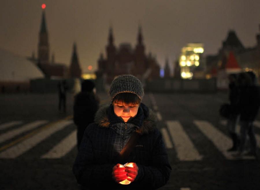 Как прошла акция «Час Земли» в Москве