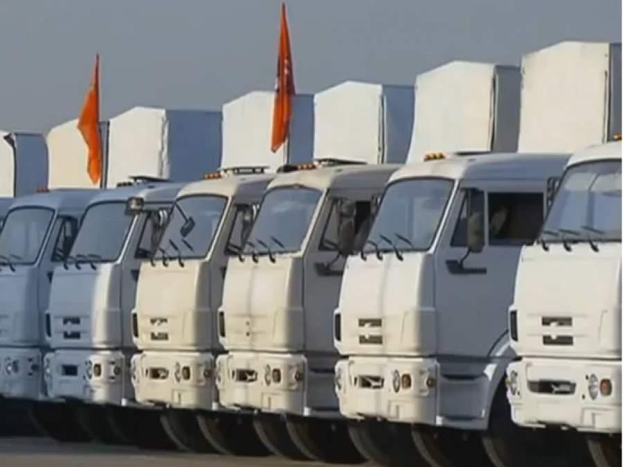 Седьмой гуманитарный конвой отправился на Донбасс