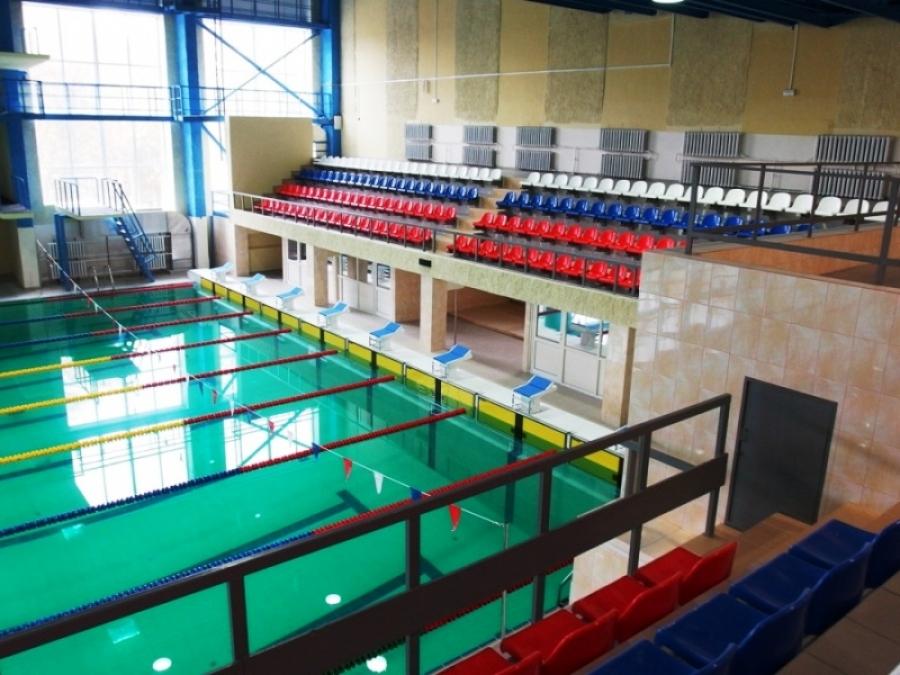 Завершается ремонт Дворца водного спорта «Дельфин»