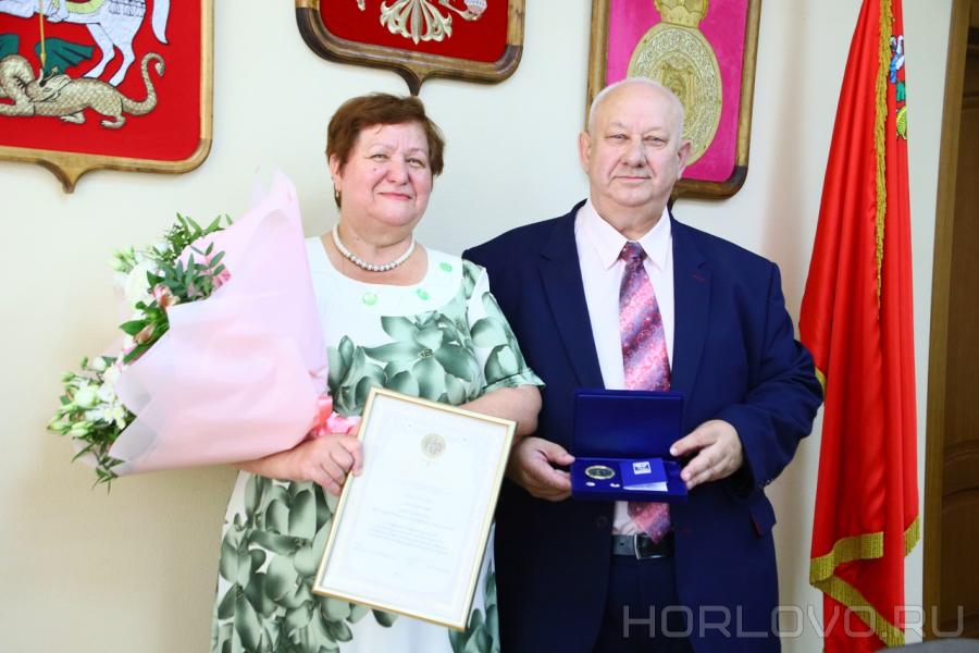 В День семьи, любви и верности в Воскресенске чествовали семью Лысенковых