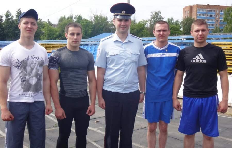 Легкоатлетическая спартакиада воскресенских полицейских