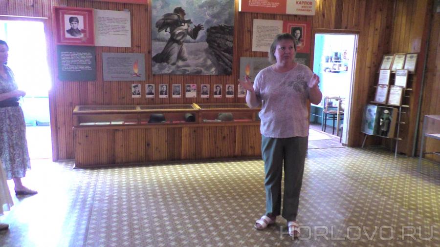 Экскурсия в школьный краеведческий музей посёлка Фосфоритный