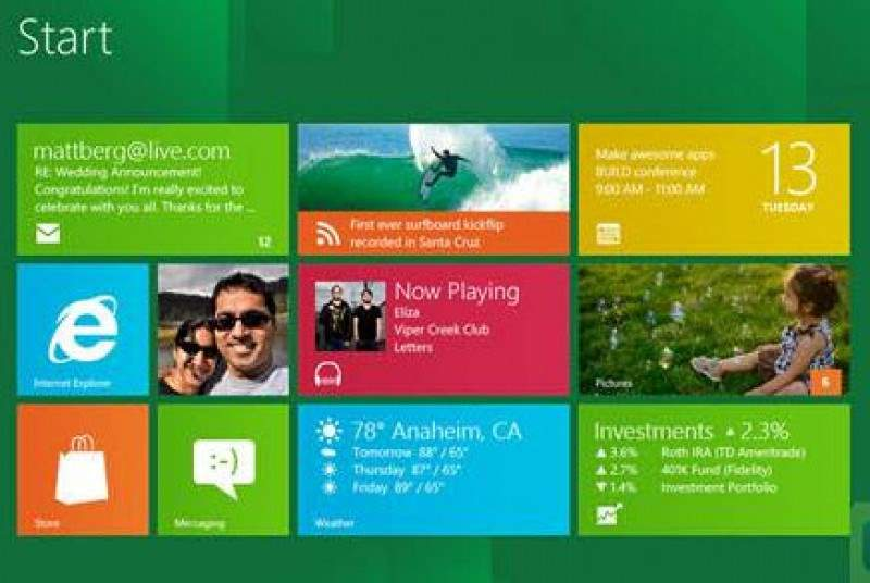 Выход Windows 8 намечен на октябрь 2012 года