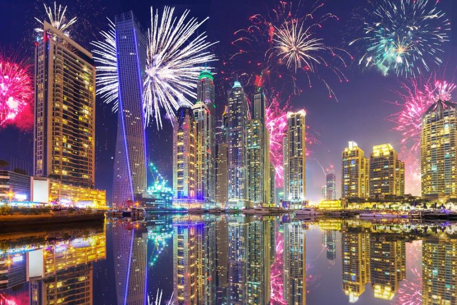 Туристу на заметку: как празднуют Новый год в ОАЭ