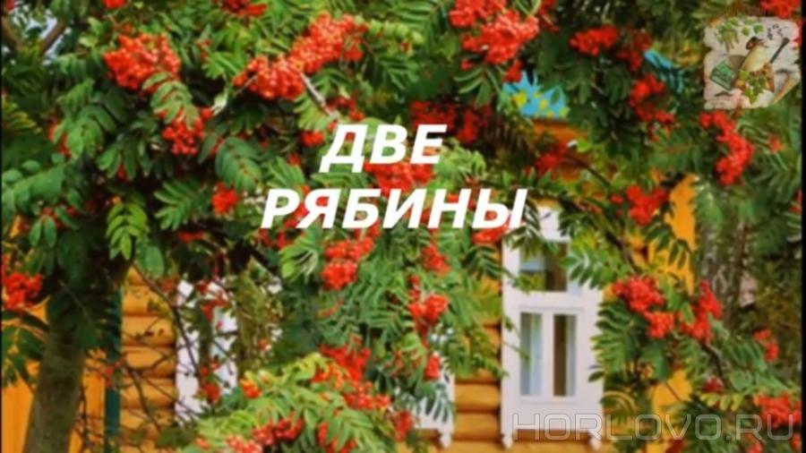 «Две рябины» Леонида Дудина в Международном литературно-музыкальном проекте