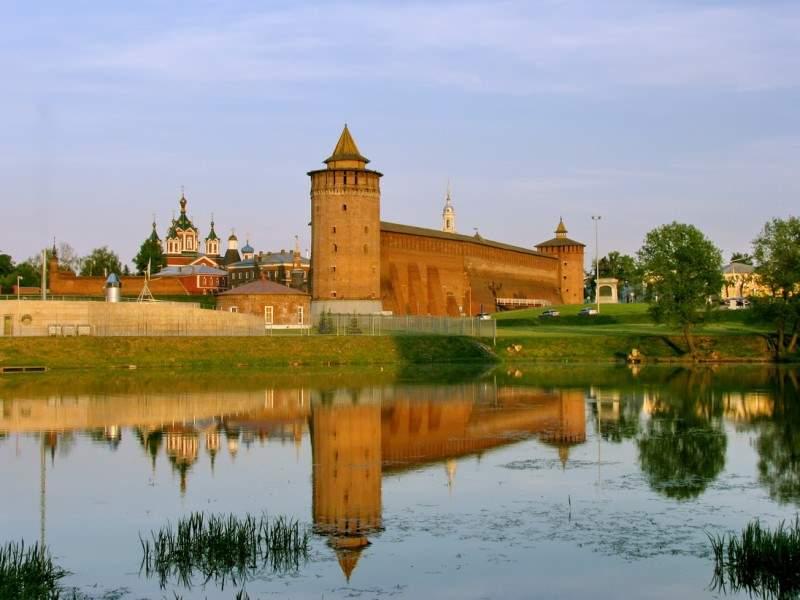 Коломенский кремль вырвался вперед