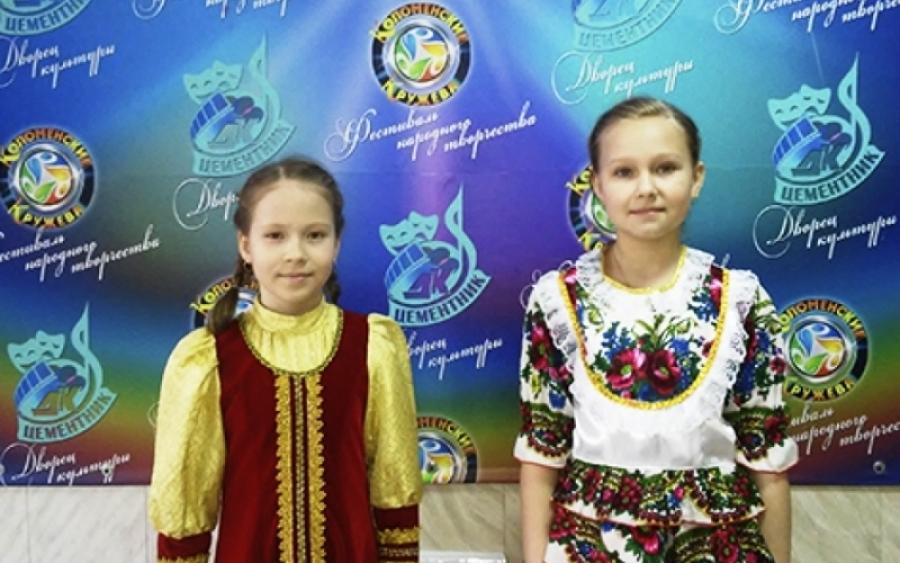 Солисты ДК «Хорлово» – лауреаты фестиваля-конкурса «Коломенские кружева»