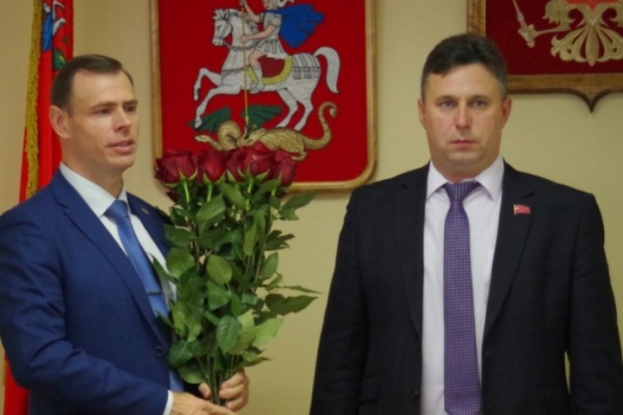 Алексей Владович избран главой городского поселения Воскресенск