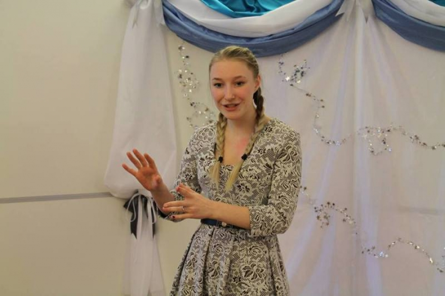Литературно-поэтический конкурс чтецов «Зимние узоры»
