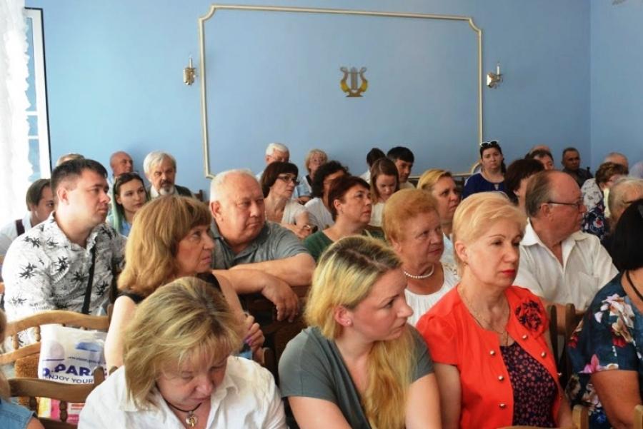 На областном семинаре литобъединений в Шатуре