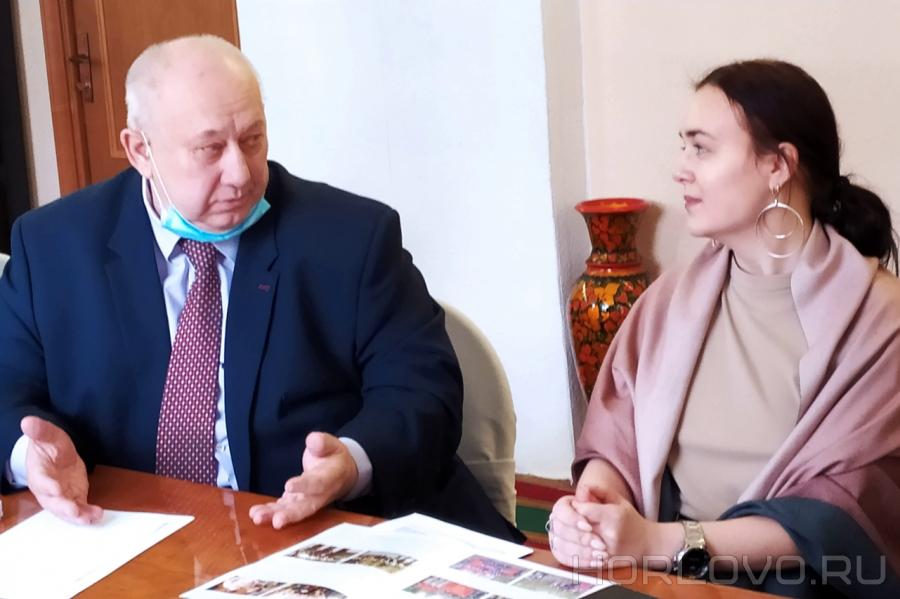 Встреча с правнучкой Ахмета Симаева – воскресенского журналиста, соратника Мусы Джалиля