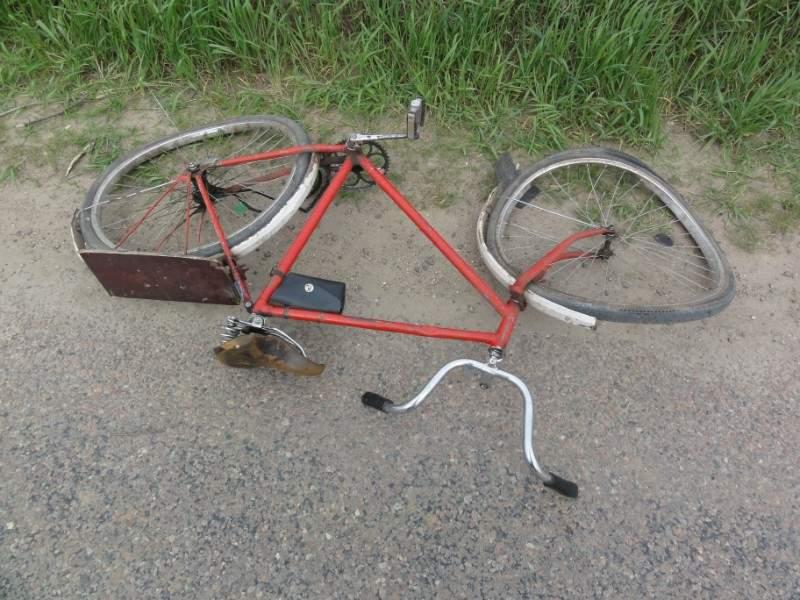 Авария с участием велосипедиста