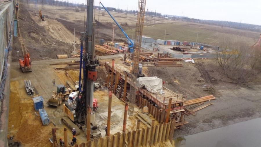 В Воскресенске началась подготовка к сборке пролёта Афанасьевского моста