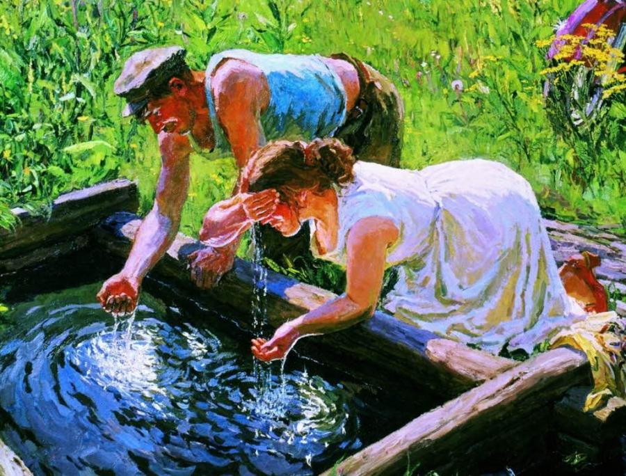 Анализ воды в родниках городского поселения Хорлово