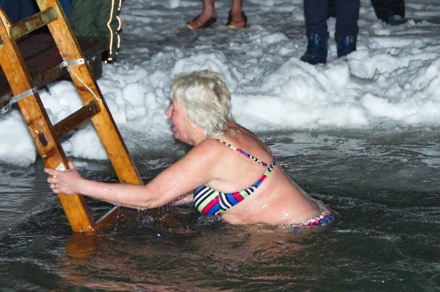 В Хорлово прошли Крещенские купания