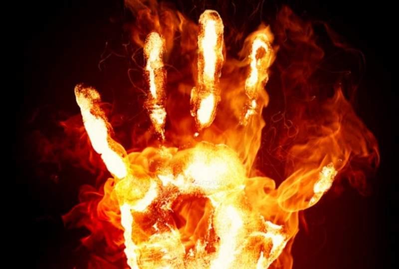 С начала июля в Хорлово произошло два пожара