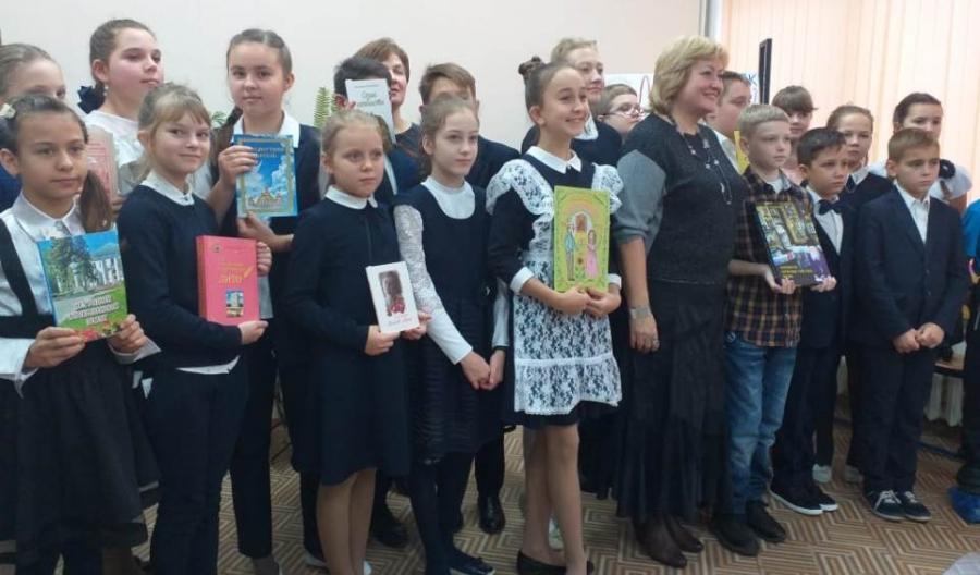 Лицеистов познакомили с «Воскресенском литературным»